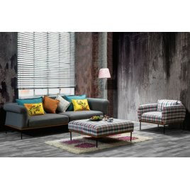 pkol Sofa Set 3+1+puf